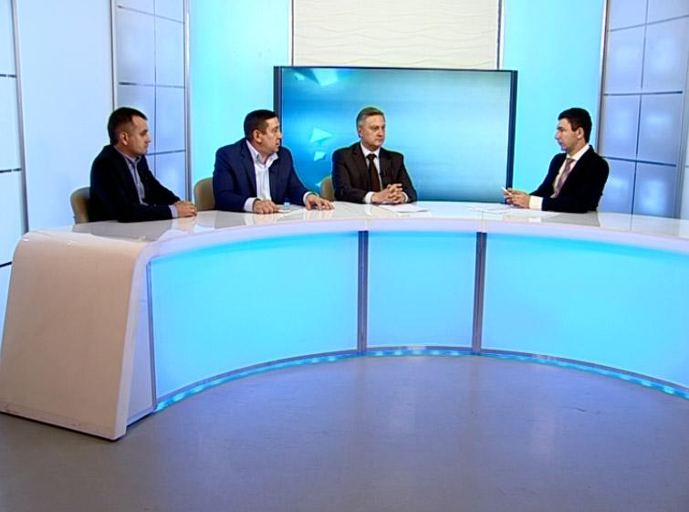 Гости студии: Сергей Бугаков, Михаил Шатилов, Виктор Никифоров