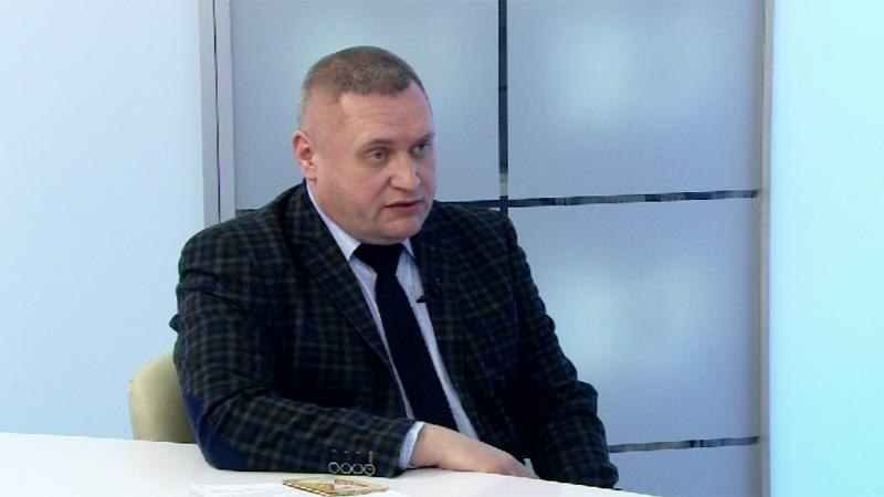 Гость студии - Вадим Волков