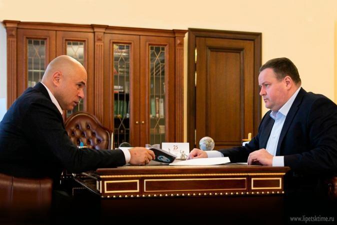 Министр труда исоциальной защиты РФвстретился сИгорем Артамоновым