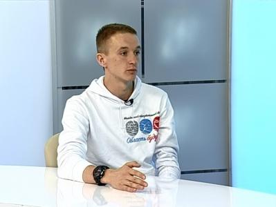 Гость студии - Дмитрий Подхалюзин