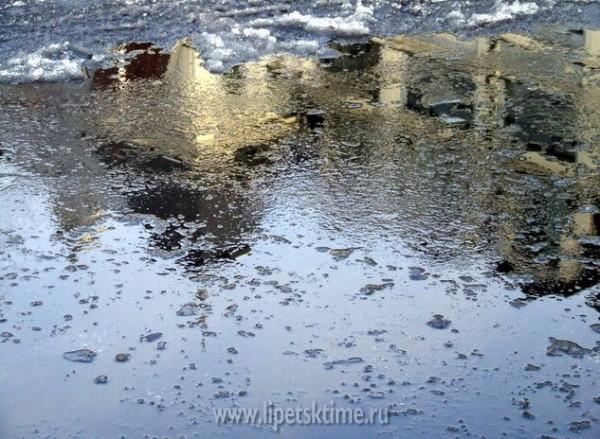 ВЛипецкой области снег игололедица на трассах