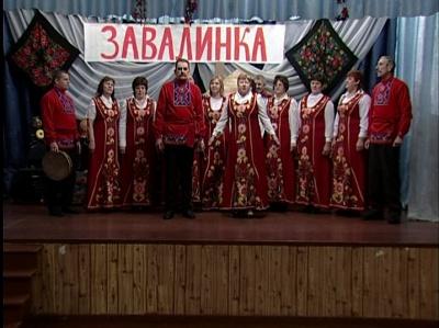 """Ансамбль """"Большовские зори"""", Воловский район. Эфир от 16 февраля 2013 года"""