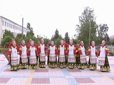 """Ансамбль """"Хлевенские напевы"""", село Дмитряшевка, Хлевенский район"""