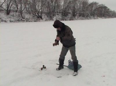 Рыбалка на Сосне. Эфир от 17 января 2013 года