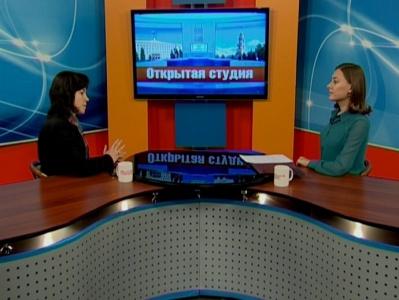Гость студии - Елена Бадулина