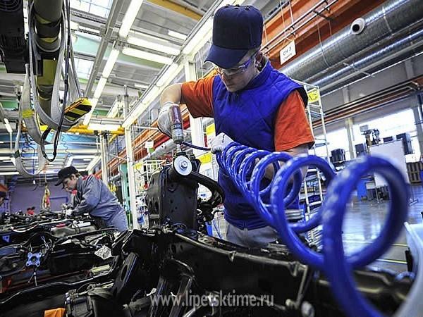 10 тыс. рабочих мест создано вЛипецкой области ссамого начала года