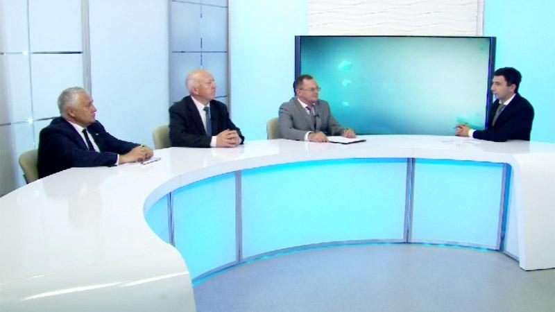 Гости студии: Виталий Шикин, Иван Марков, Анатолий Гольцов