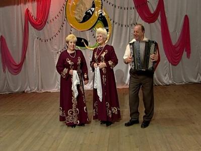 В гостях у гармонистов, поселок Сырский Рудник. Эфир от 9 марта 2013 года