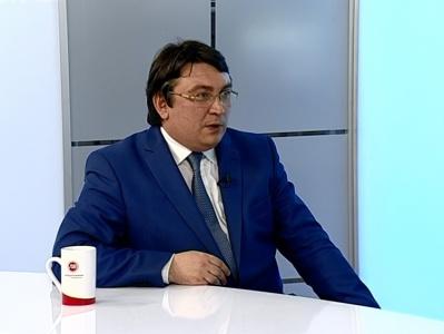 Гость студии - Евгений Павлов