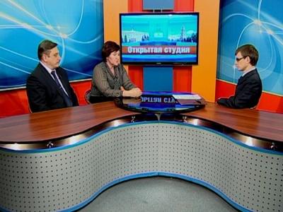 Гости студии: Людмила Летникова, Сергей Шинкарёв