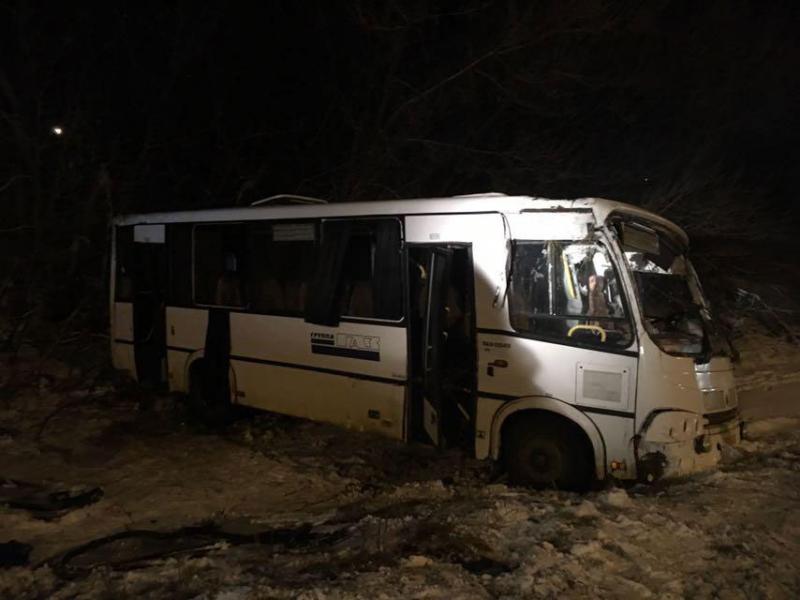 4 ребенка ипятеро взрослых пострадали вДТП савтобусом под Липецком
