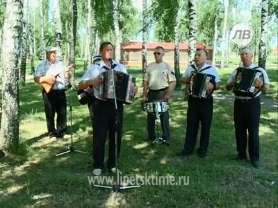 """Ансамбль """"Тальяночка"""" с. Тербуны"""