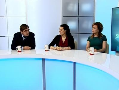 Гости студии: Жанна Хайрединова, Руслан Попов, Нелла Ахадова