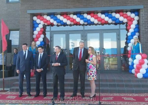 ВОЭЗ «Липецк» открылся завод попроизводству теплиц