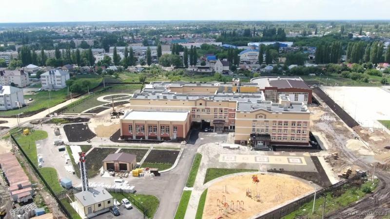 В Усмани построили новую школу на 800 мест (видео)