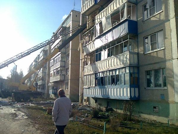В Данкове из-за взрыва обрушилась 5-этажка