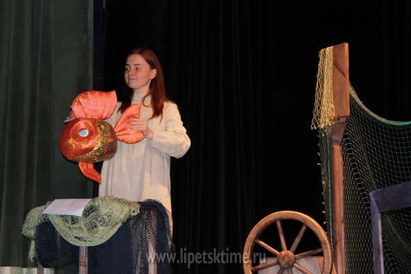 Липецкий театр кукол готовит «Сказку о Золотой рыбке»