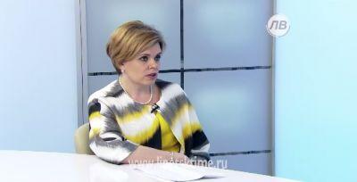 Гость студии - Ольга Телегина