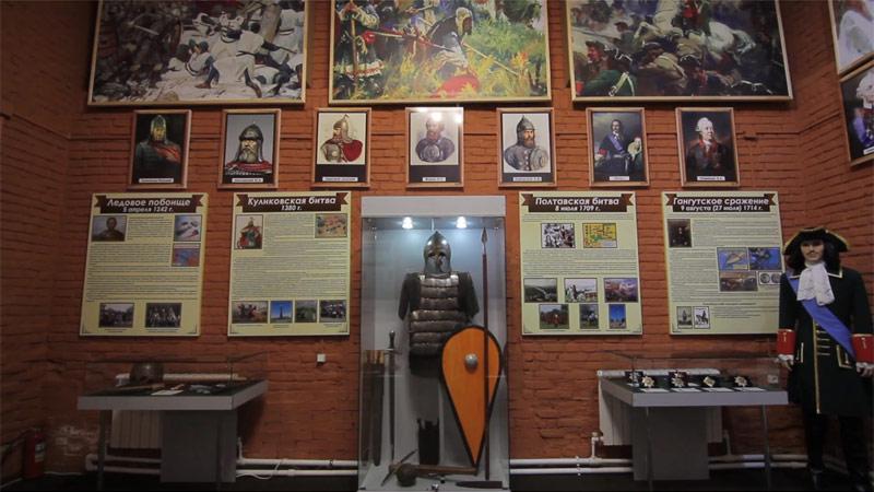 Чаплыгин. Музей боевой славы, Петропавловская пустынь