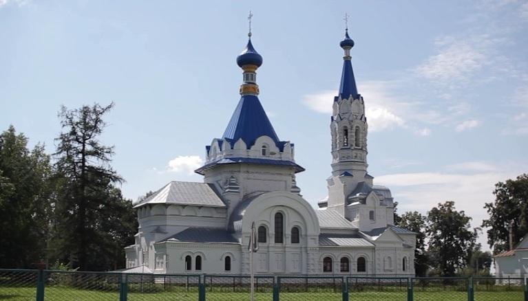 Грязинский район. Село Коробовка, село Княжая Байгора.