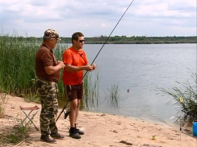 Рыбалка в Арзыбовке