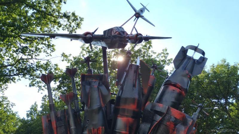 Монумент «Эхо войны» открыли в Хлевенском районе (видео)