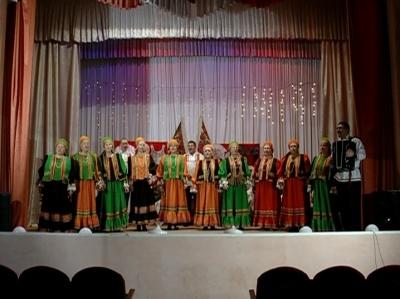 Семейный ансамбль Гришиных, село Воронец. Эфир от 23 февраля 2013 года