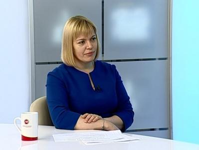 Гость студии - Марина Кирсанова