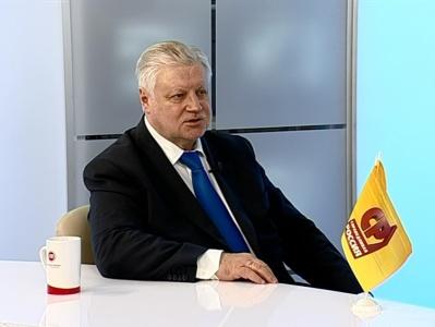 Гость студии - Сергей Миронов