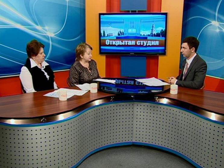 Гости студии: Лилия Сиротинкина, Евгения Манелис