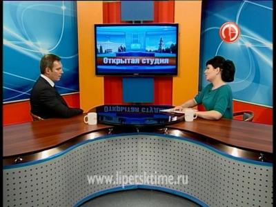 Гость студии - Александр Кычаков