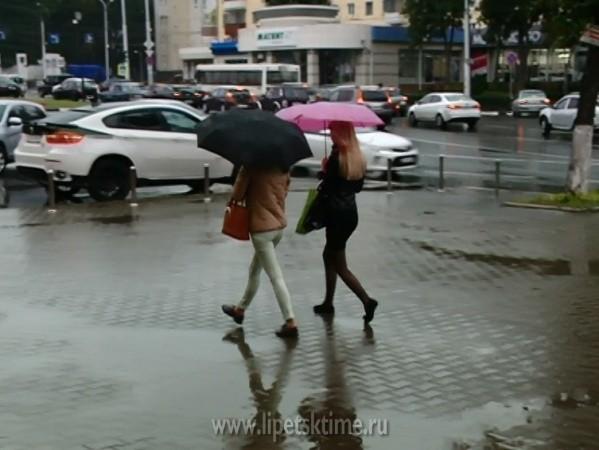 На текущей неделе в Республики Беларусь ожидаются сильные осадки
