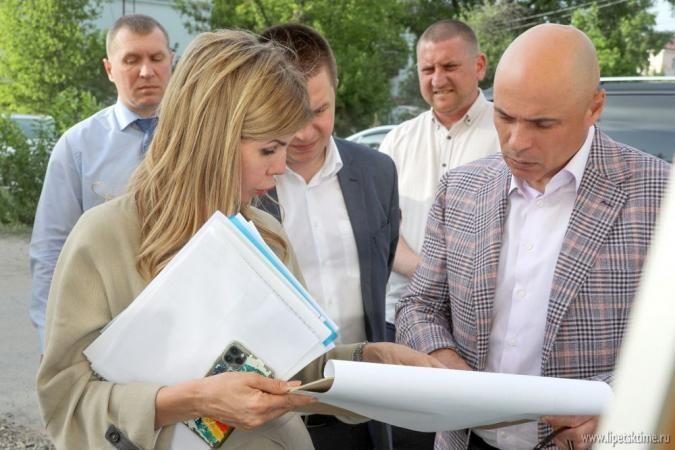 Игорь Артамонов проинспектировал областной центр