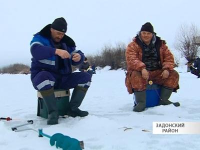 Соревнования по рыбной ловле в Задонске