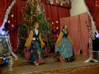 Новогодний выпуск. Село Вислая Поляна Тербунского района