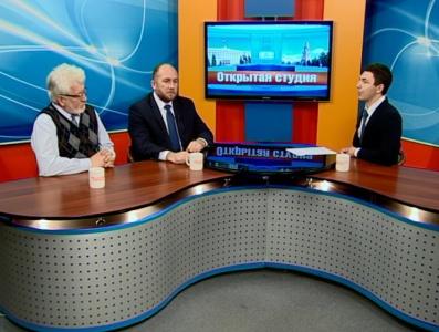 Гости студии: Александр Бессуднов, Михаил Рязанцев